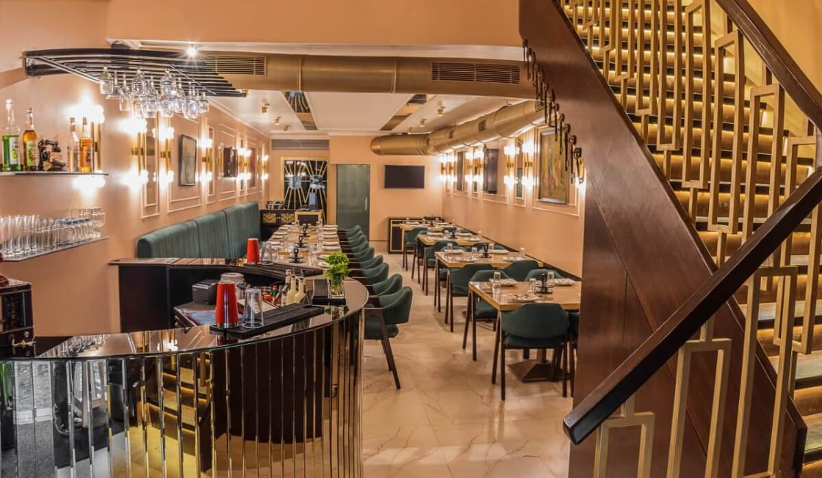 Fine The Fork Tale Mumbai The Vegetarian Bhukkad Interior Design Ideas Oxytryabchikinfo